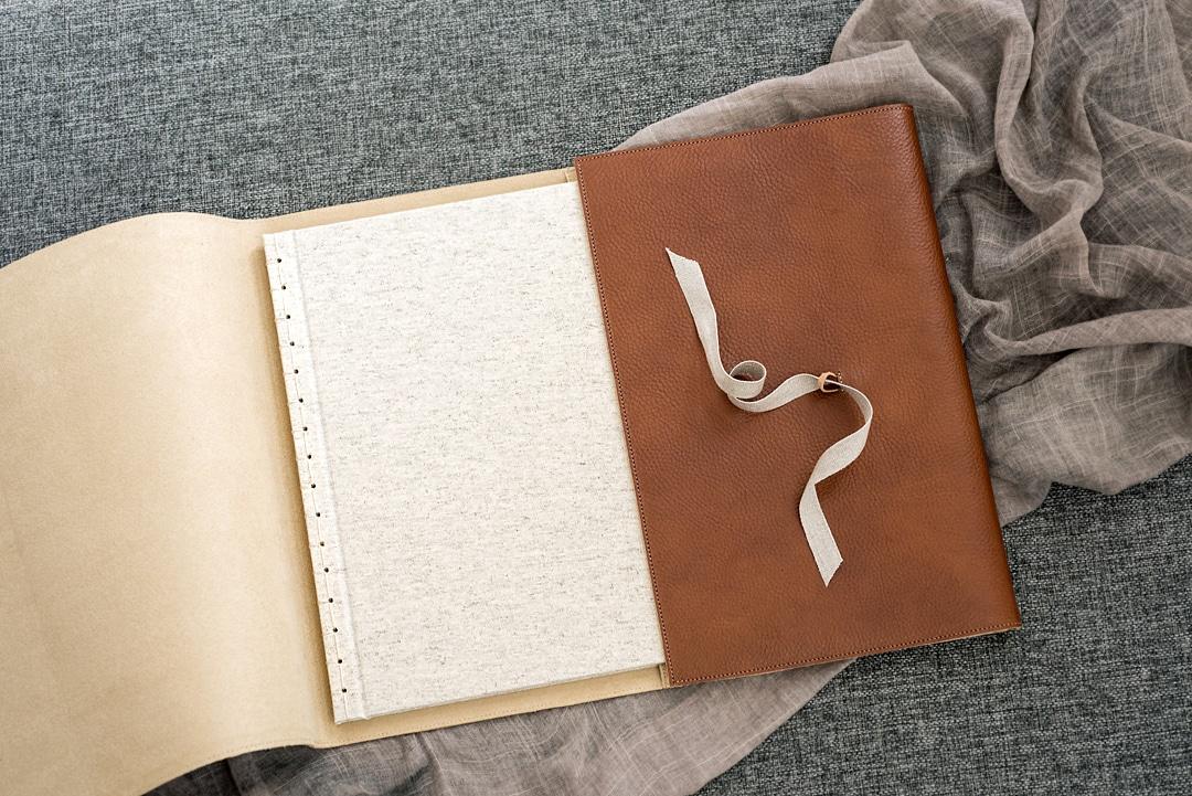 leather bound handmade book